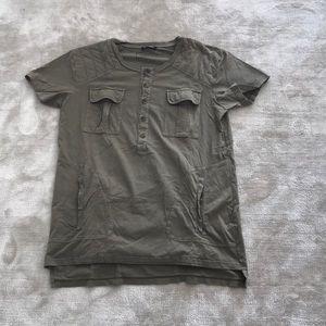 Balmain Henley t shirt - M